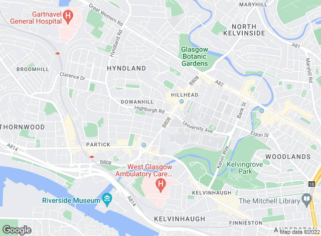 Map for Pacitti Jones, Glasgow