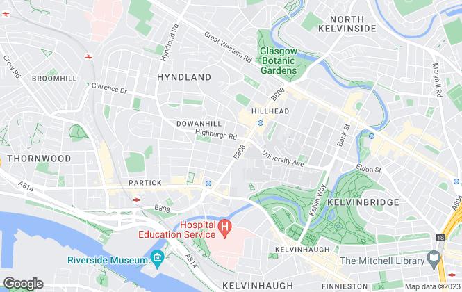 Map for Pacitti Jones, Glasgow