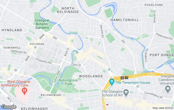 Map for HAP Sales & Lettings, Glasgow