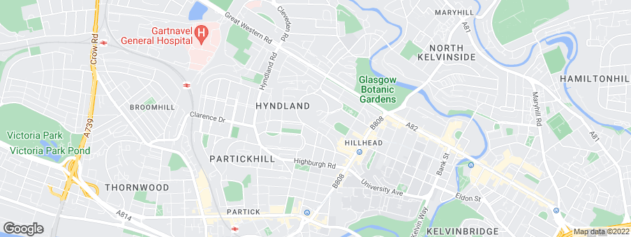 Map for Credential (Dowanhill) Ltd