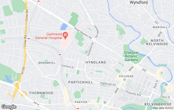 Map for Corum, Glasgow