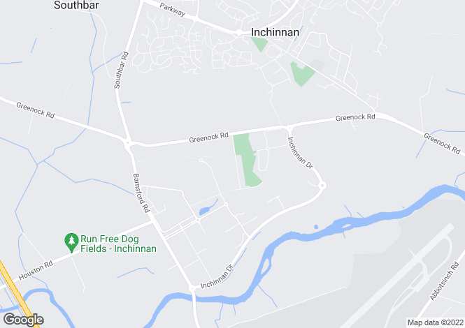 Map for India Drive, Inchinnan, Renfrew
