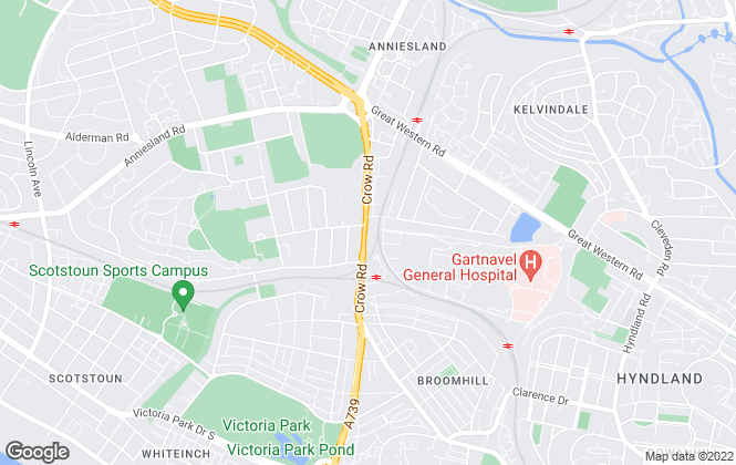 Map for Central Estate Agents, Glasgow