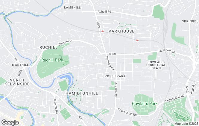 Map for Quicksale Property Auctions Ltd , Glasgow