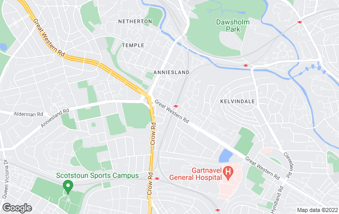 Map for Eve Property, Glasgow