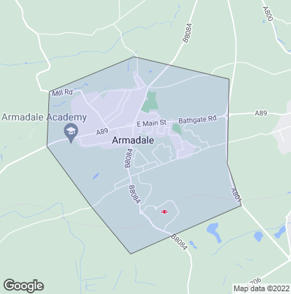 Map of property in Armadale