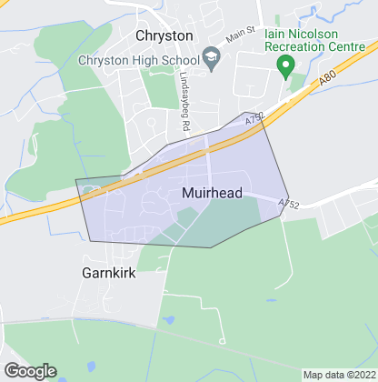 Map of property in Muirhead