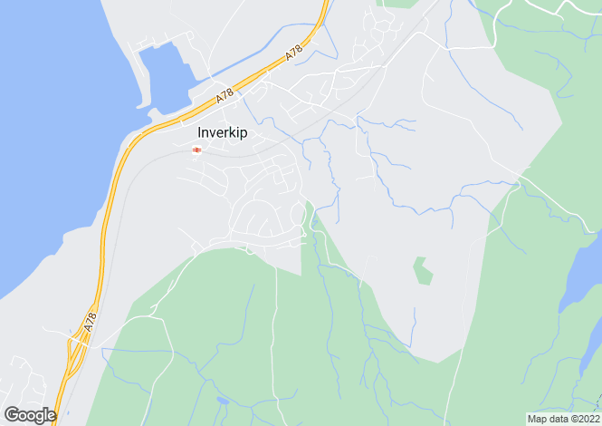 Map for Findhorn Crescent,