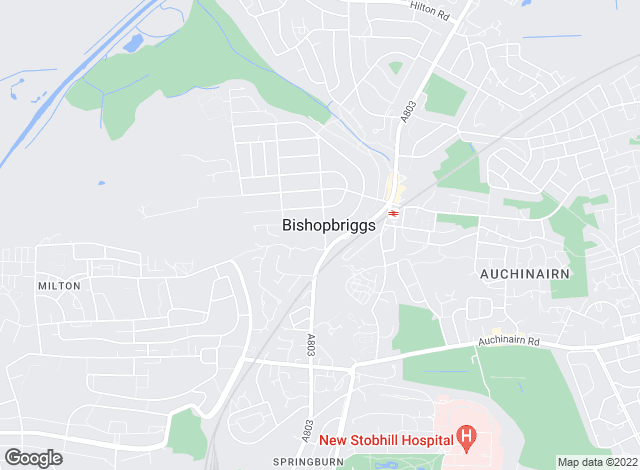 Map for Allen & Harris, Bishopbriggs Glasgow