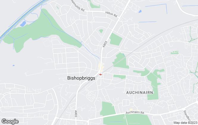 Map for Bellus Property, Bishopbriggs