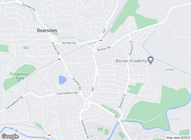 Map for The Property Bureau, Bearsden