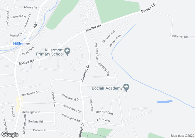 Map for Durness Avenue,