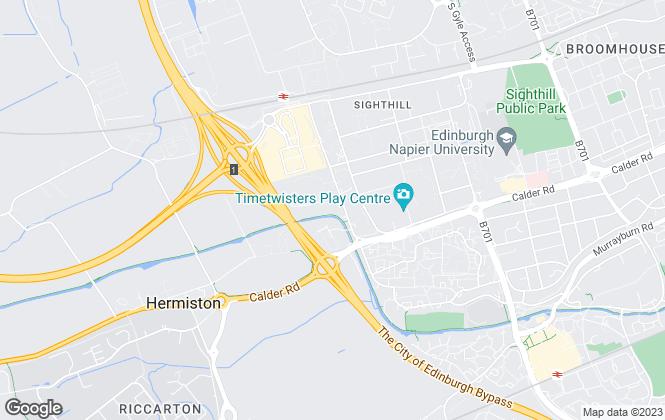 Map for Oakleaf East Scotland, Oakleaf Homes