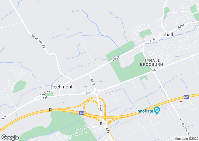 Map for 5a Houston Mains Holdings, Broxburn, EH52 6JU, Scotland