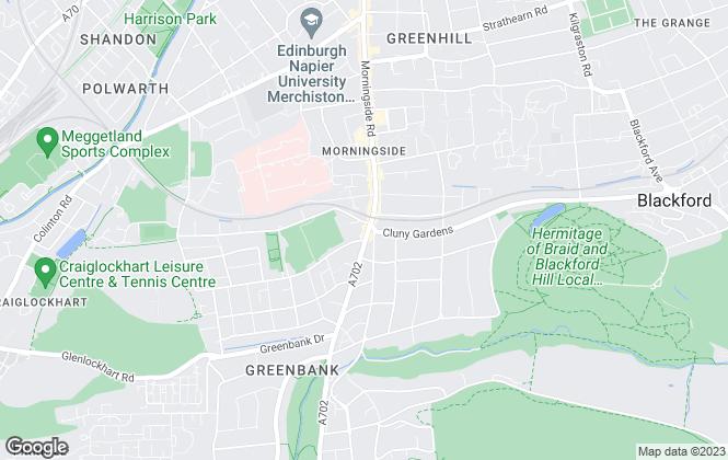 Map for Pagan Osborne, Edinburgh