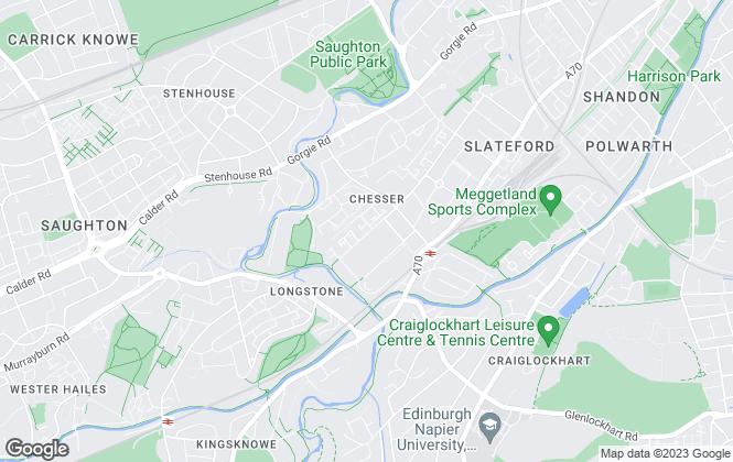 Map for CMC Property, Edinburgh