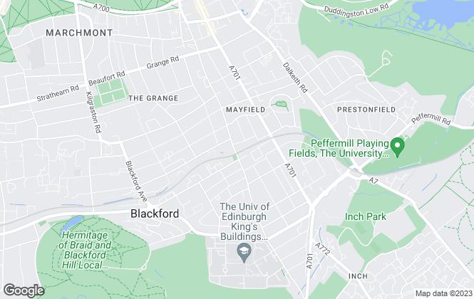 Map for Allan McDougall , Edinburgh