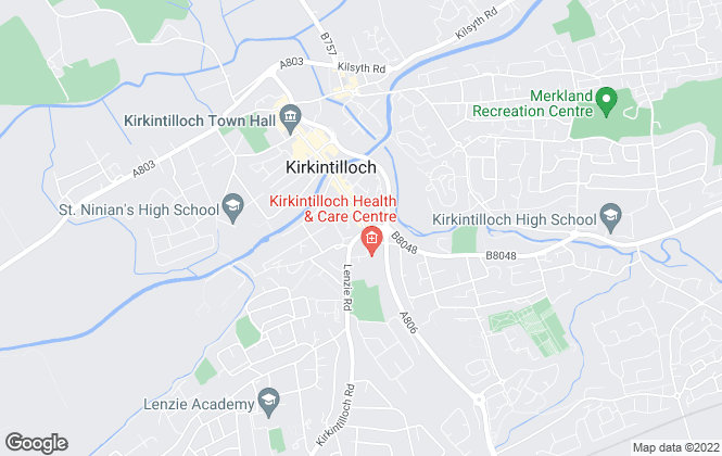 Map for Pacitti Jones, Kirkintilloch