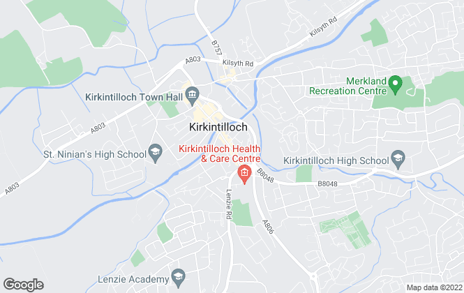 Map for R & G Estate Agents Limited, Kirkintilloch