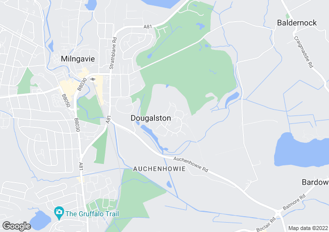 Map for Calkarian, Mitchell Drive, Milngavie, Glasgow