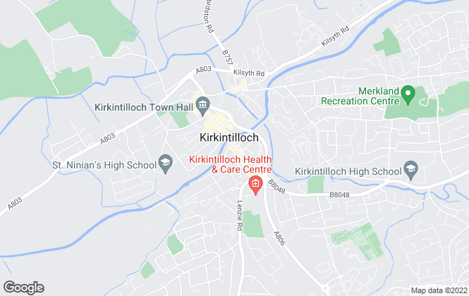 Map for Countrywide, Kirkintilloch
