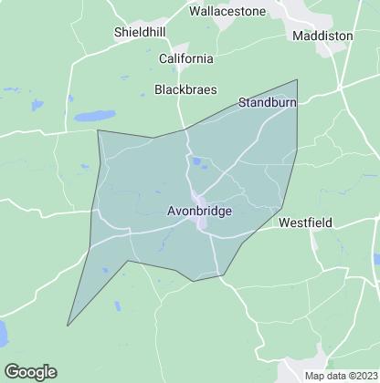 Map of property in Avonbridge