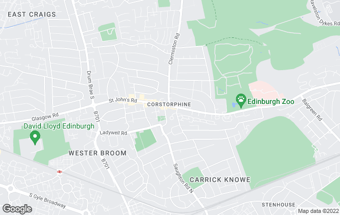 Map for Deans Properties, Edinburgh