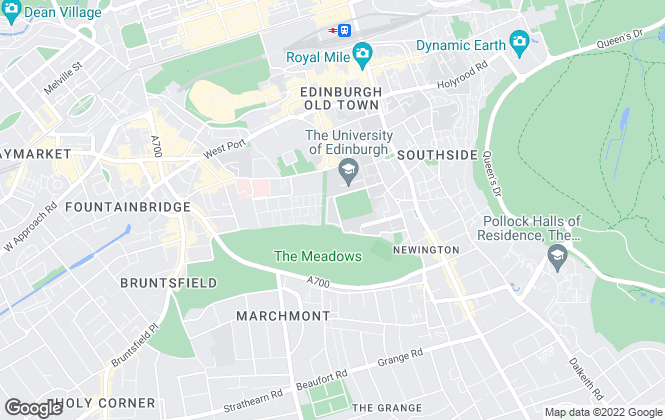 Map for Ennova Estate Agents, Edinburgh