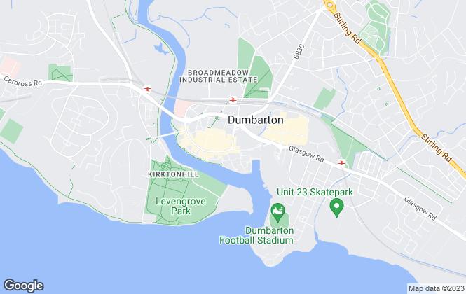 Map for David Muir & Co., Dumbarton