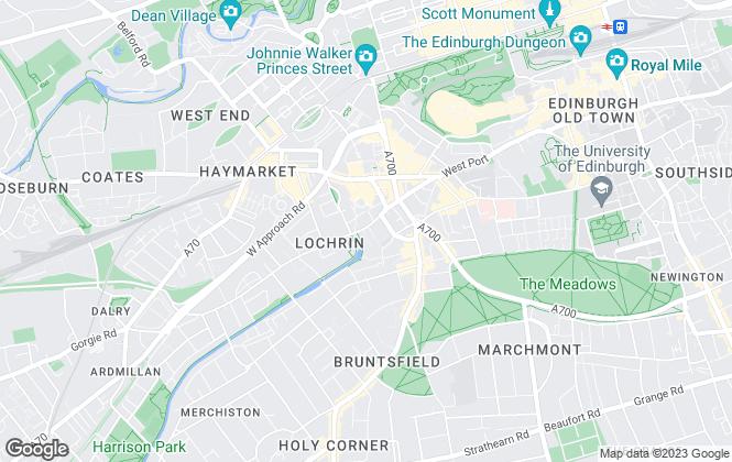 Map for Cushman & Wakefield, Cushman & Wakefield (Edinburgh Land)