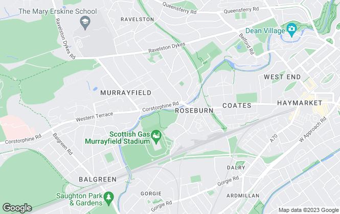 Map for DM Hall , Edinburgh
