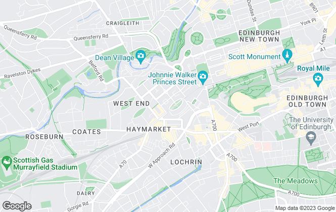 Map for Grant Property, Edinburgh