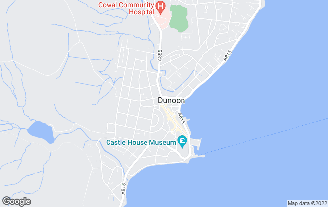 Map for Miller Stewart Estate Agency Network, Dunoon