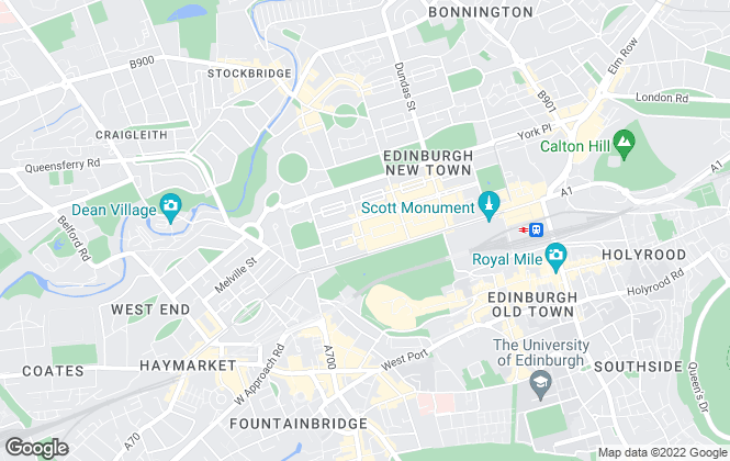 Map for Lambert Smith Hampton, Edinburgh