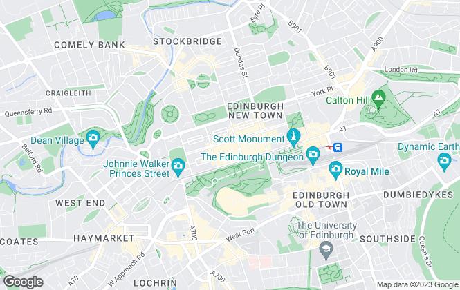 Map for Strutt & Parker, Scottish Estates & Farm Agency