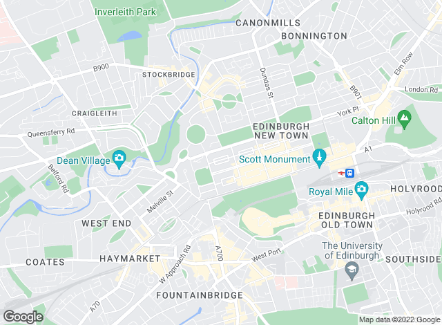 Map for Smiths Gore, Edinburgh