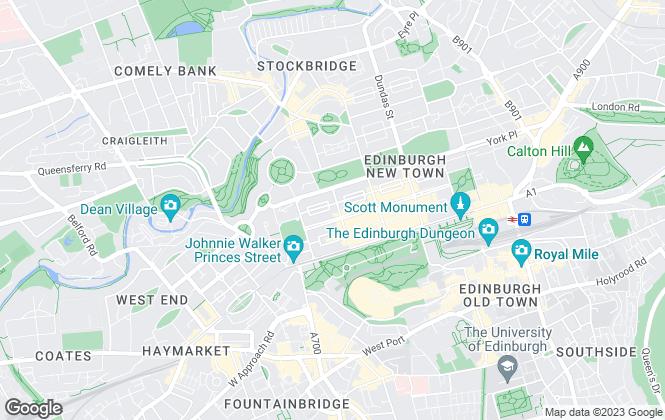 Map for Murray Snell , Edinburgh