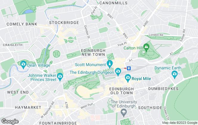 Map for Christie & Co , Edinburgh