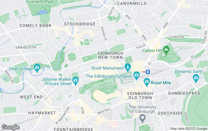 Map for CKD Galbraith, Edinburgh