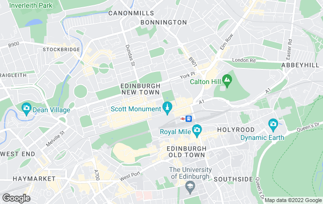 Map for Amazing Results Estate Agents, Edinburgh