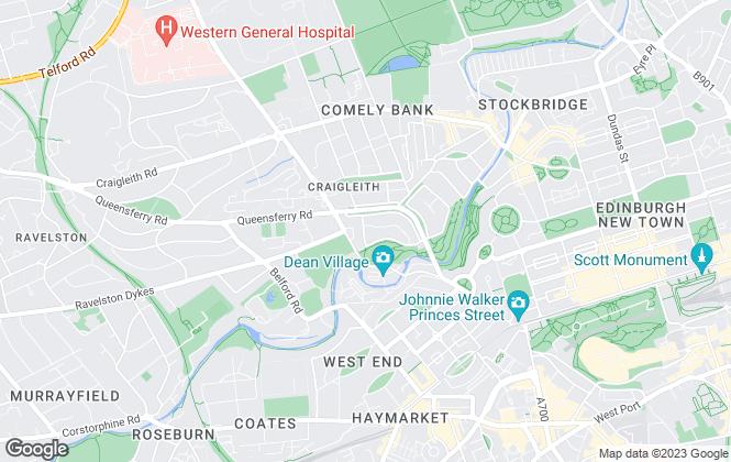 Map for Macgregor , Edinburgh
