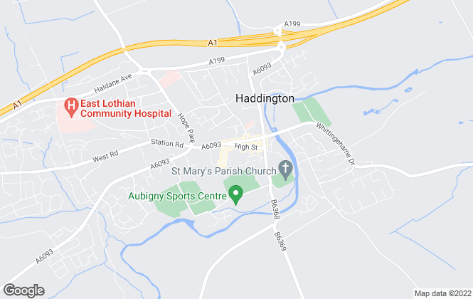 Map for Ogilvy Chalmers, Haddington