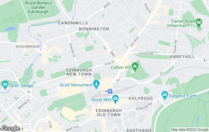 Map for Campbell Smith LLP , Edinburgh