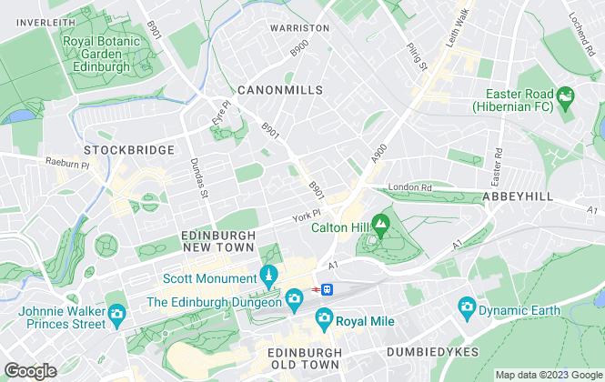 Map for Simpson & Marwick, Edinburgh
