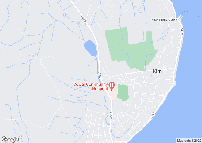 Map for Dunloskin View,Dunoon, Dunoon, Argyll and Bute
