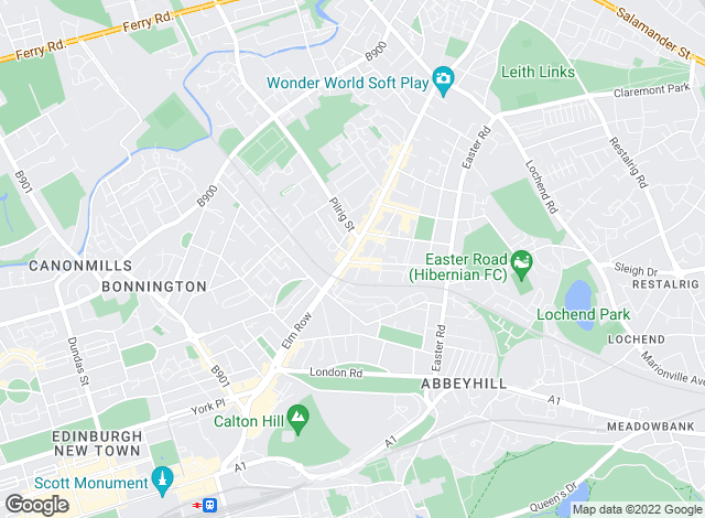 Map for Lints Property, Edinburgh