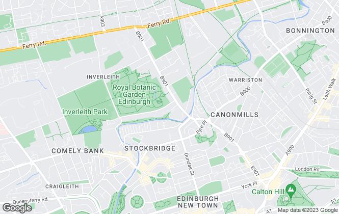 Map for Connor Malcolm, Edinburgh