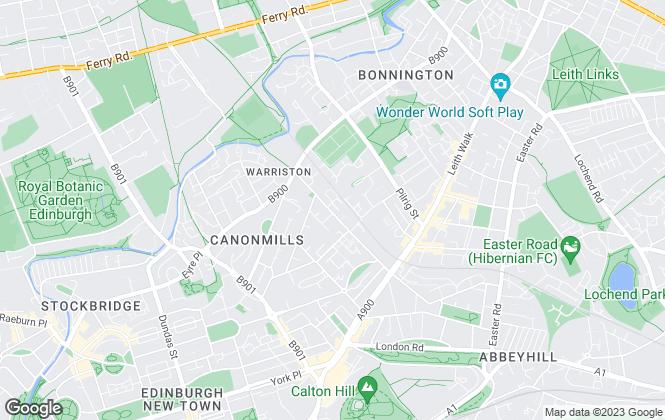 Map for Hanover (Scotland) Housing Association, Hanover (Scotland) Housing Association Limited