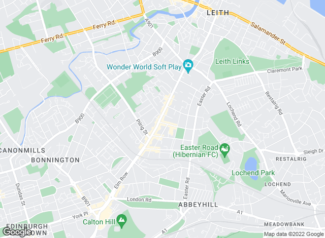 Map for YOUR MOVE, Leith Walk