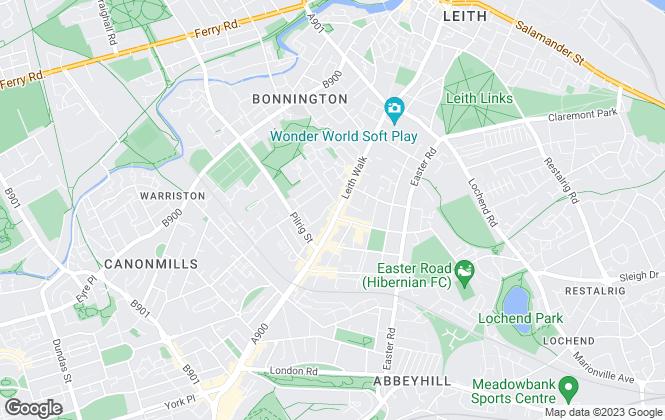 Map for Casa Amiga LIMITED, Edinburgh
